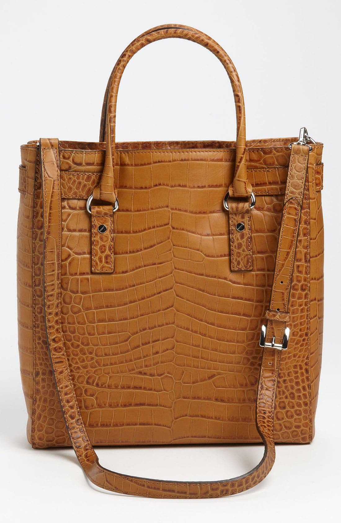 Alternate Image 4  - MICHAEL Michael Kors 'Hamilton' Leather Tote