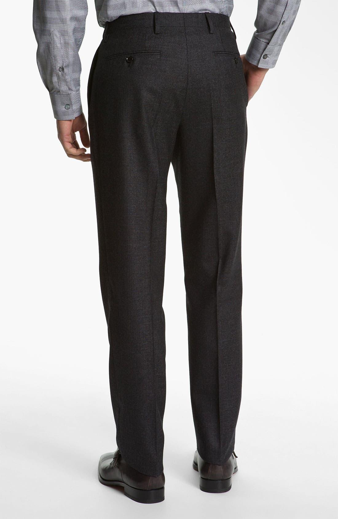 Alternate Image 5  - Burberry London Extra Trim Fit Suit