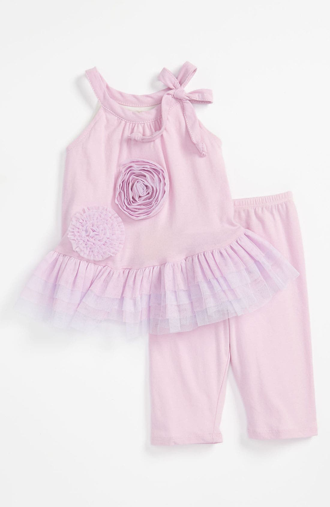 Alternate Image 1 Selected - Isobella & Chloe 'Ballerina' Top & Leggings (Infant)
