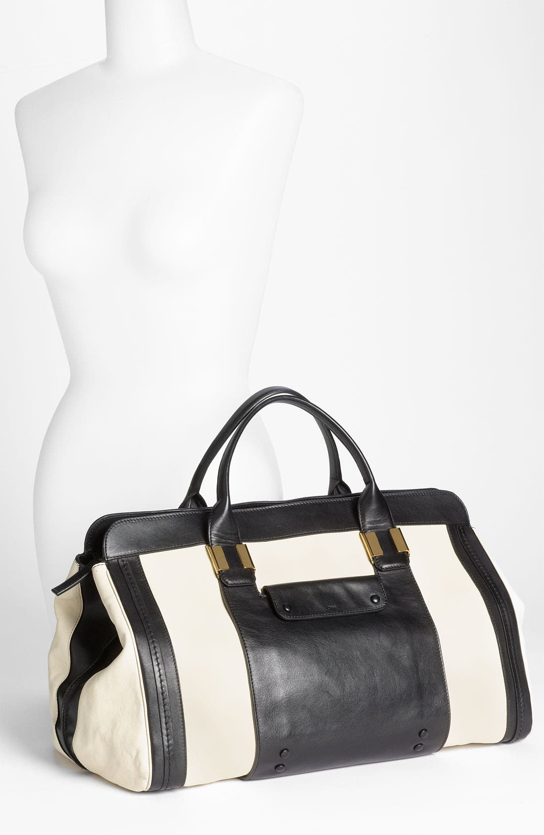 Alternate Image 2  - Chloé 'Alice - Large' Leather Tote