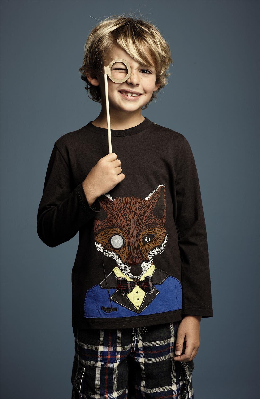 Alternate Image 2  - Mini Boden 'Winter Animal' T-Shirt (Little Boys & Big Boys)