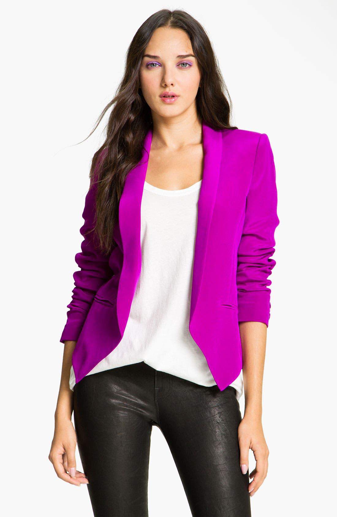Alternate Image 1 Selected - Truth and Pride Silk Cutaway Blazer