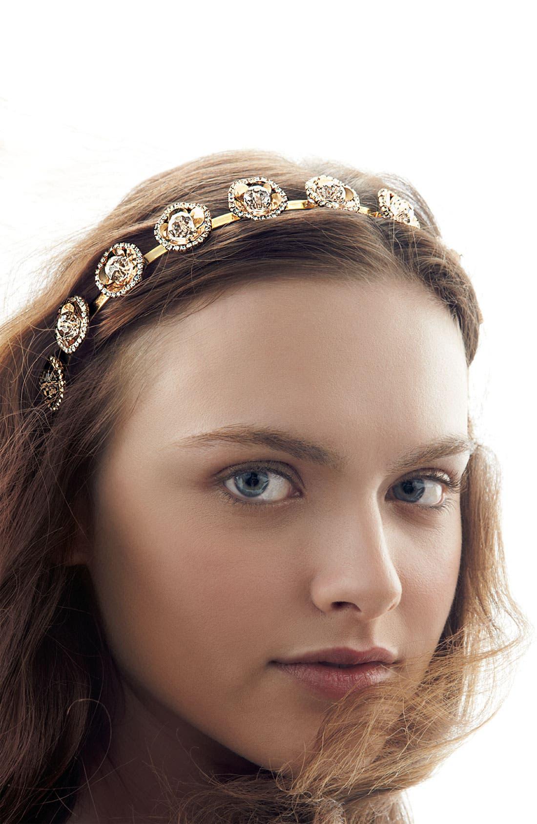 Alternate Image 2  - Tasha 'Crystal Candy Buttons' Headband