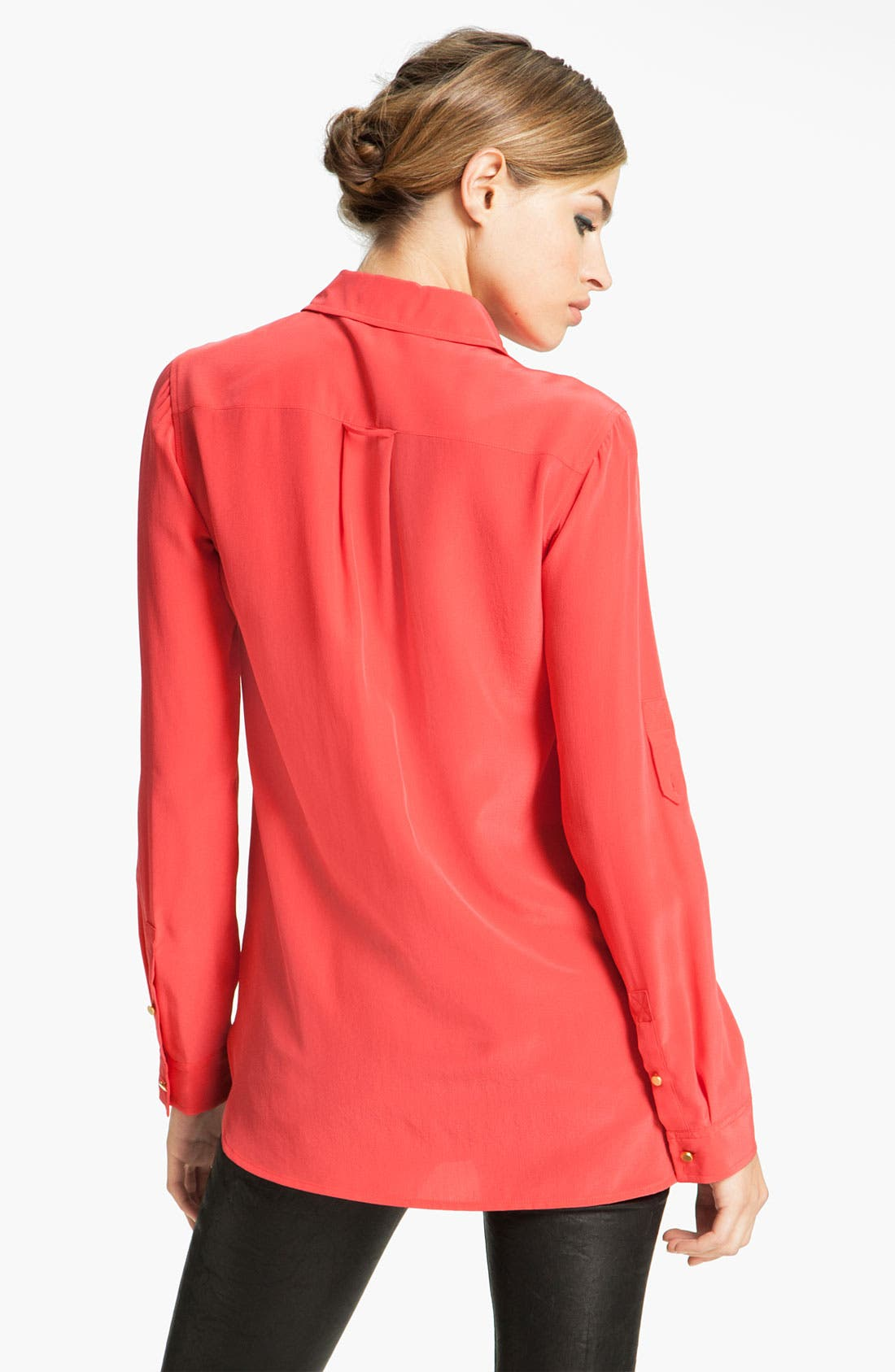 Alternate Image 2  - MARC BY MARC JACOBS 'Erin' Oversized Silk Shirt