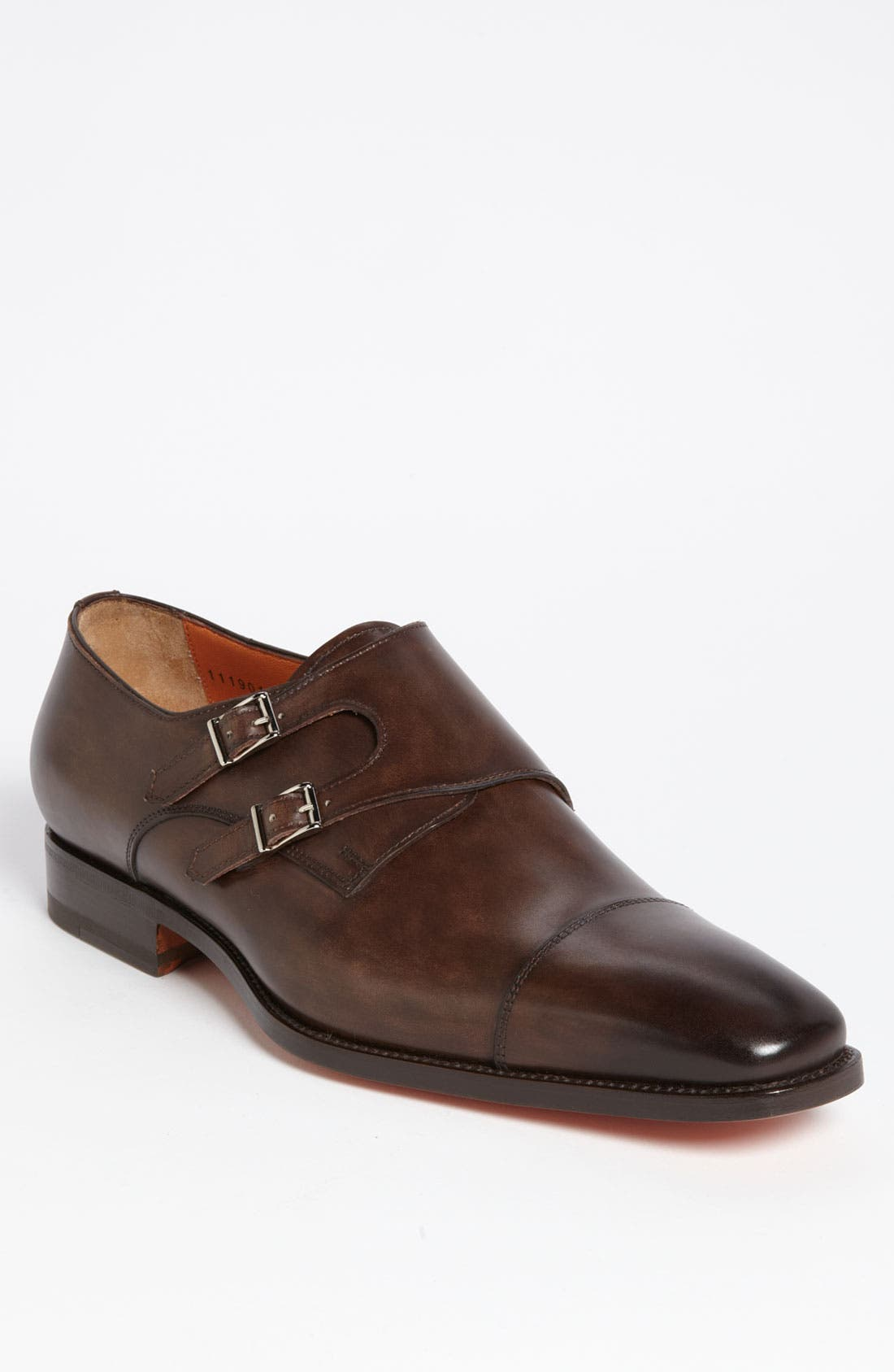 Alternate Image 1 Selected - Santoni 'Sumner' Double Monk Strap Slip-On
