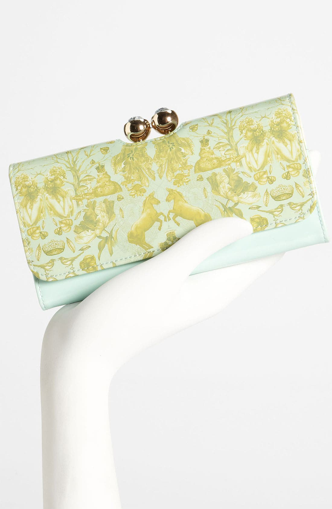 Alternate Image 2  - Ted Baker London 'Equestrian Print' Matinee Wallet