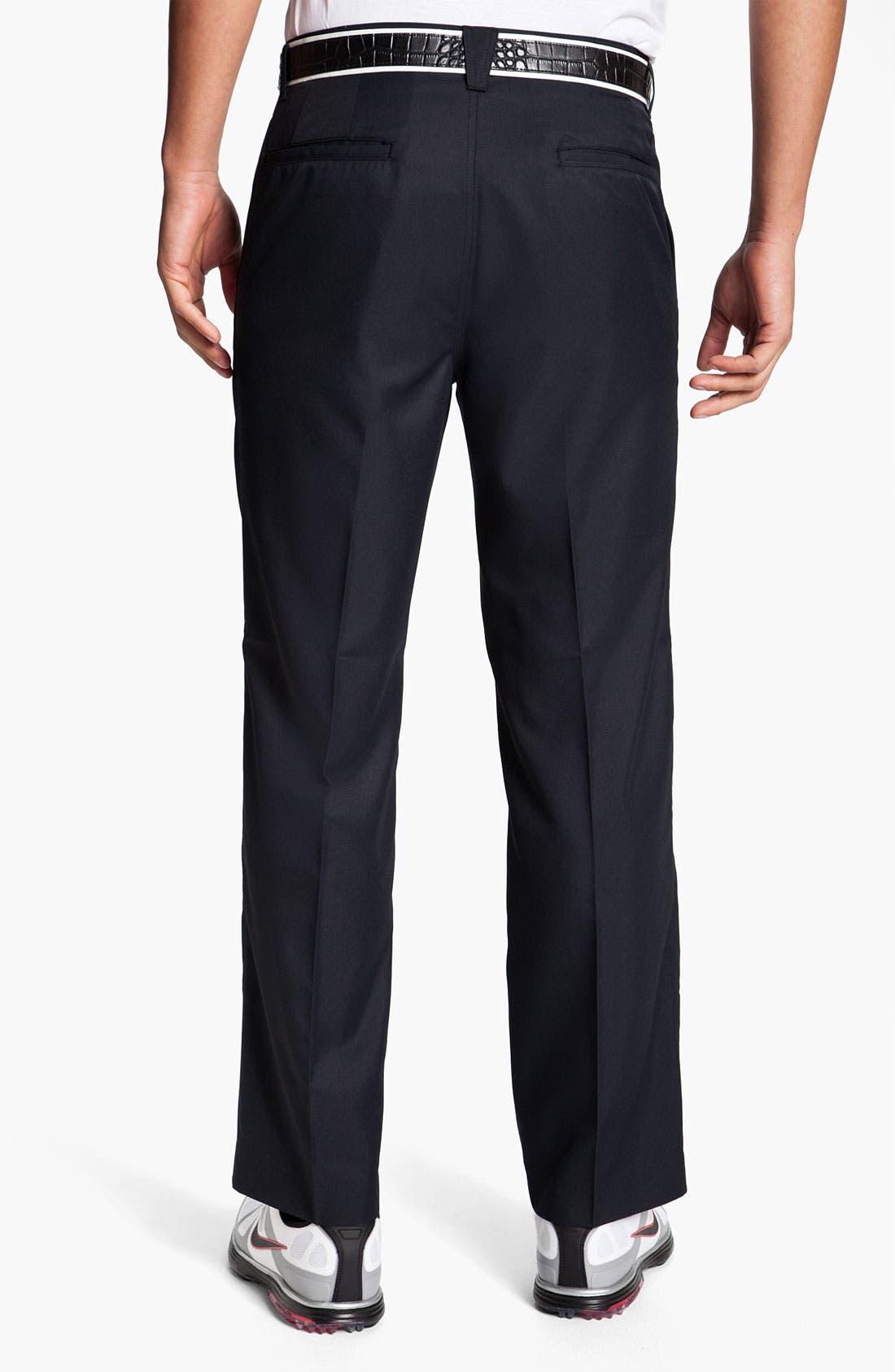 Alternate Image 2  - Callaway Golf® 'Tech' Flat Front Pants