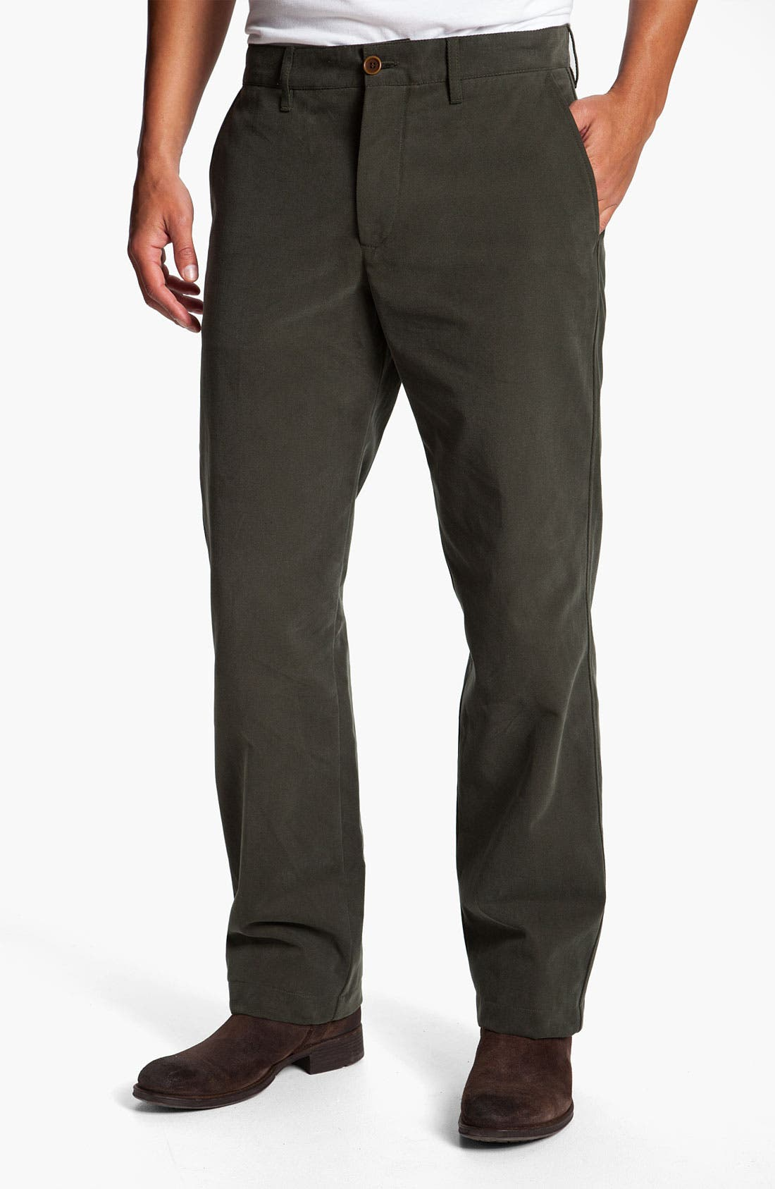 Main Image - Lacoste Straight Leg Chinos