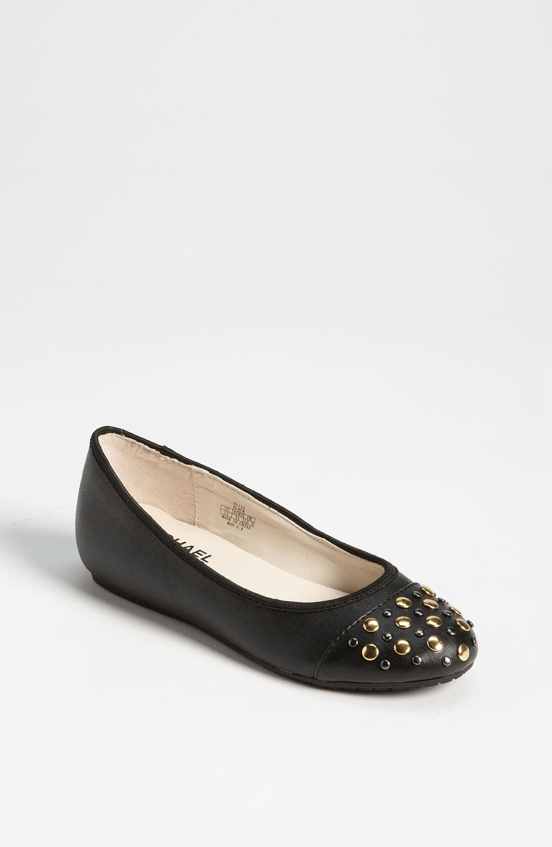 Main Image - MICHAEL Michael Kors 'Eliza' Flat (Toddler, Little Kid & Big Kid)