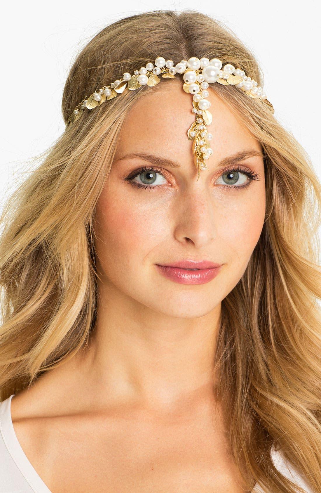 Main Image - Tasha 'Specialty' Leaves Head Wrap