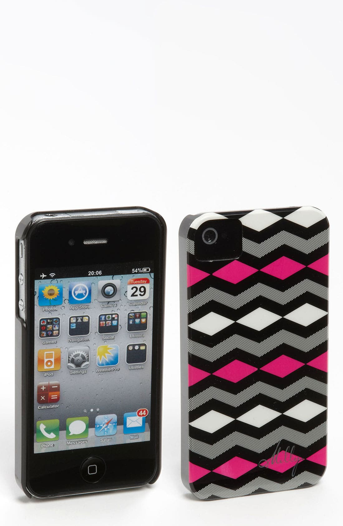 Alternate Image 1 Selected - Milly 'Diamond Zigzag' iPhone 4 & 4S Case