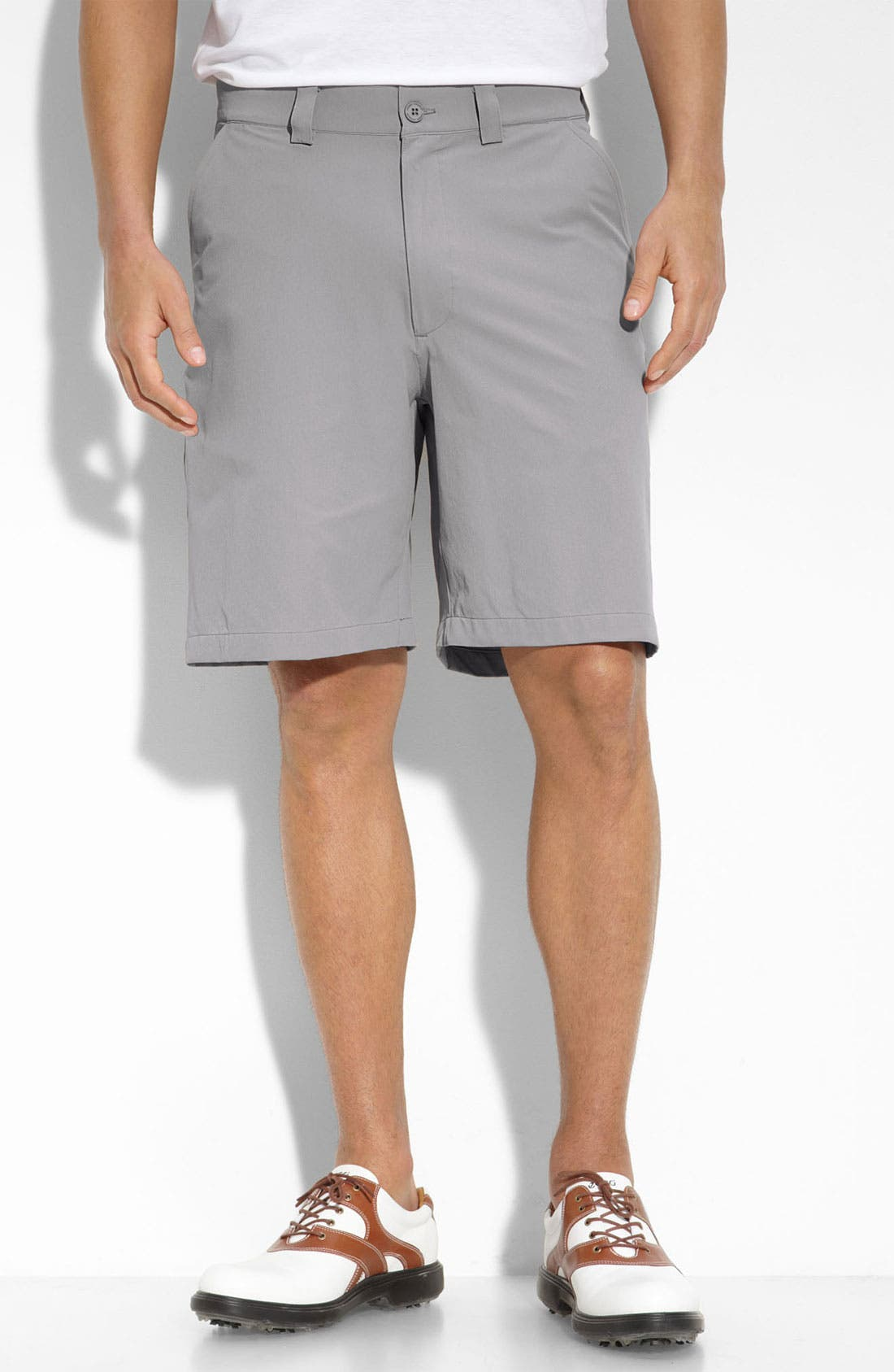 Main Image - Under Armour 'Bent Grass' HeatGear® Golf Shorts