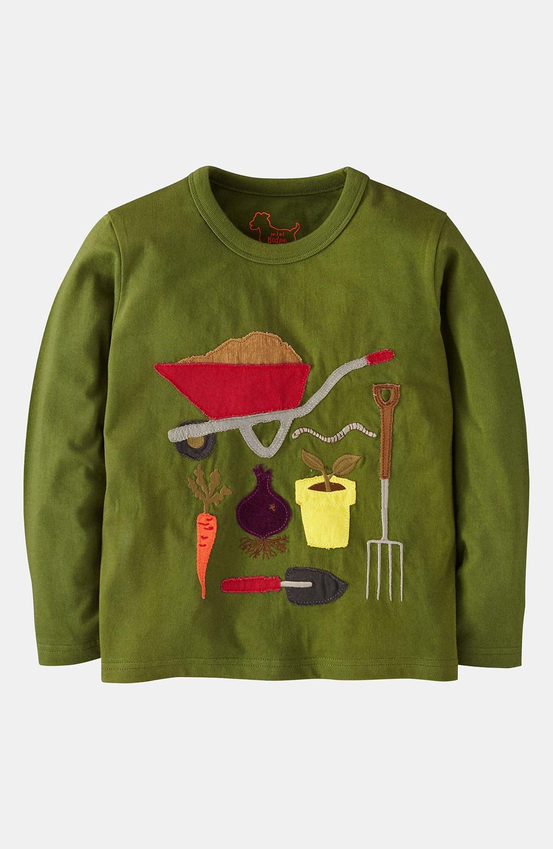 Alternate Image 1 Selected - Mini Boden 'Doing Stuff' T-Shirt (Toddler)