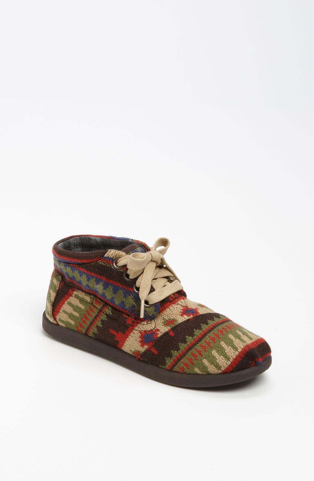 Main Image - TOMS 'Botas Youth - Kilim' Boot (Toddler, Little Kid & Big Kid)