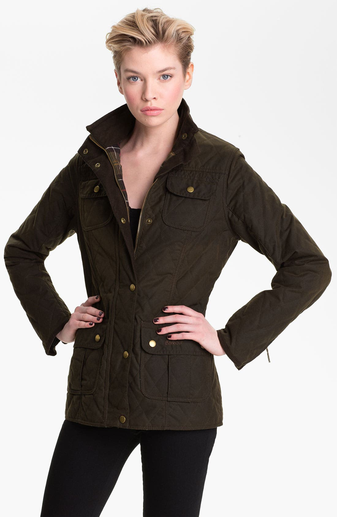 Alternate Image 1 Selected - Barbour Quilted Utility Jacket