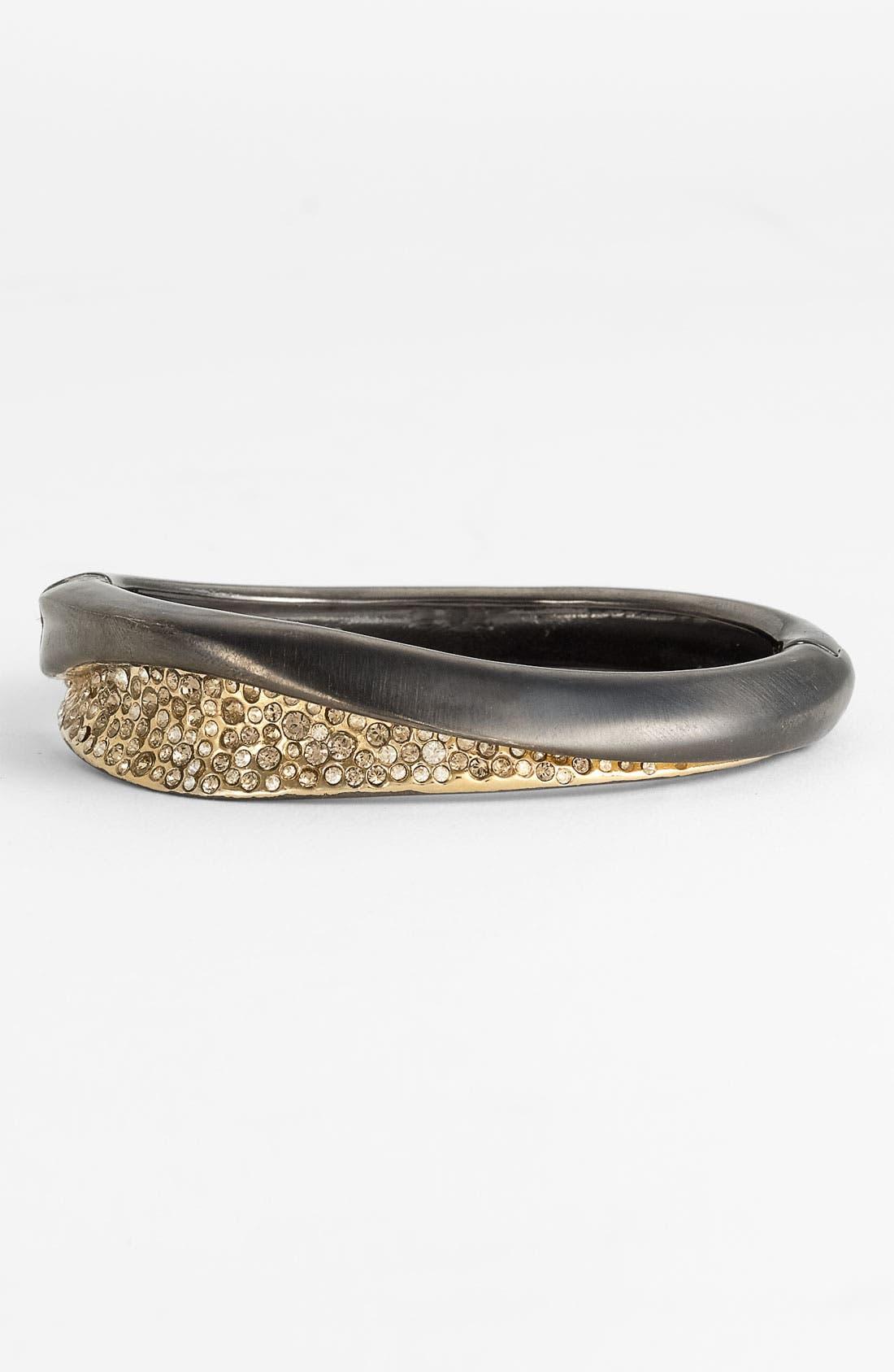 Alternate Image 1 Selected - Alexis Bittar 'Miss Havisham' Crystal Encrusted Hinged Bracelet