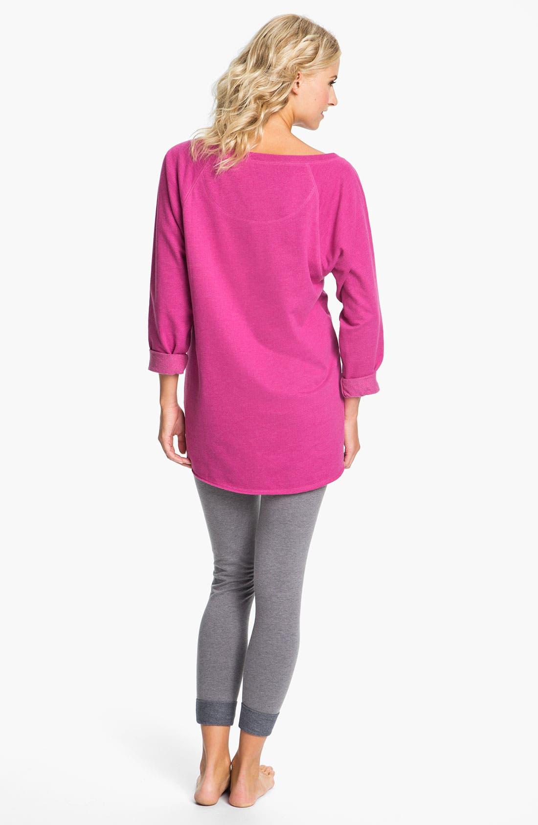 Alternate Image 5  - Make + Model 'Bundled' Sweatshirt