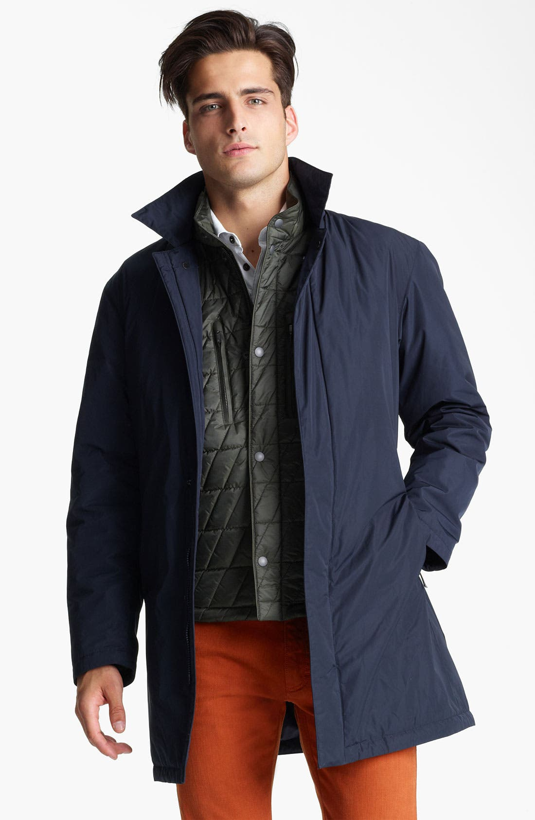 Alternate Image 1 Selected - Zegna Sport 'City' Raincoat
