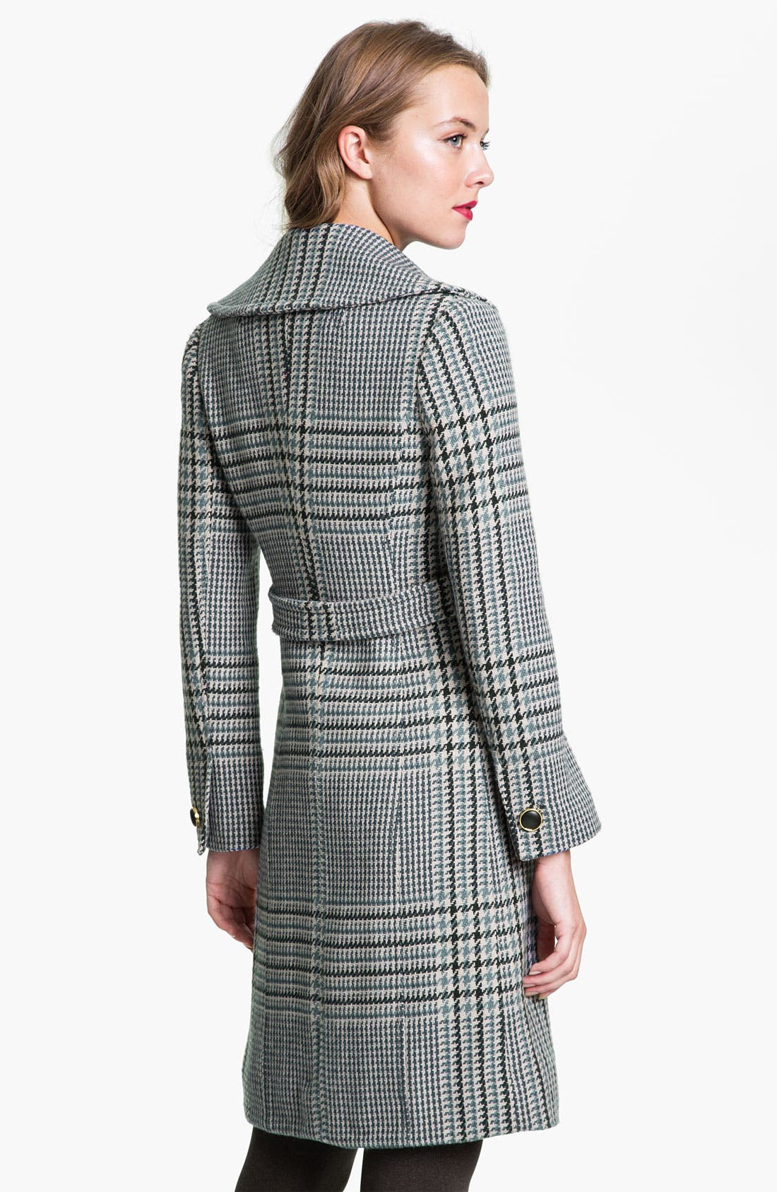 Alternate Image 2  - Tory Burch 'Virginia' Houndstooth Coat