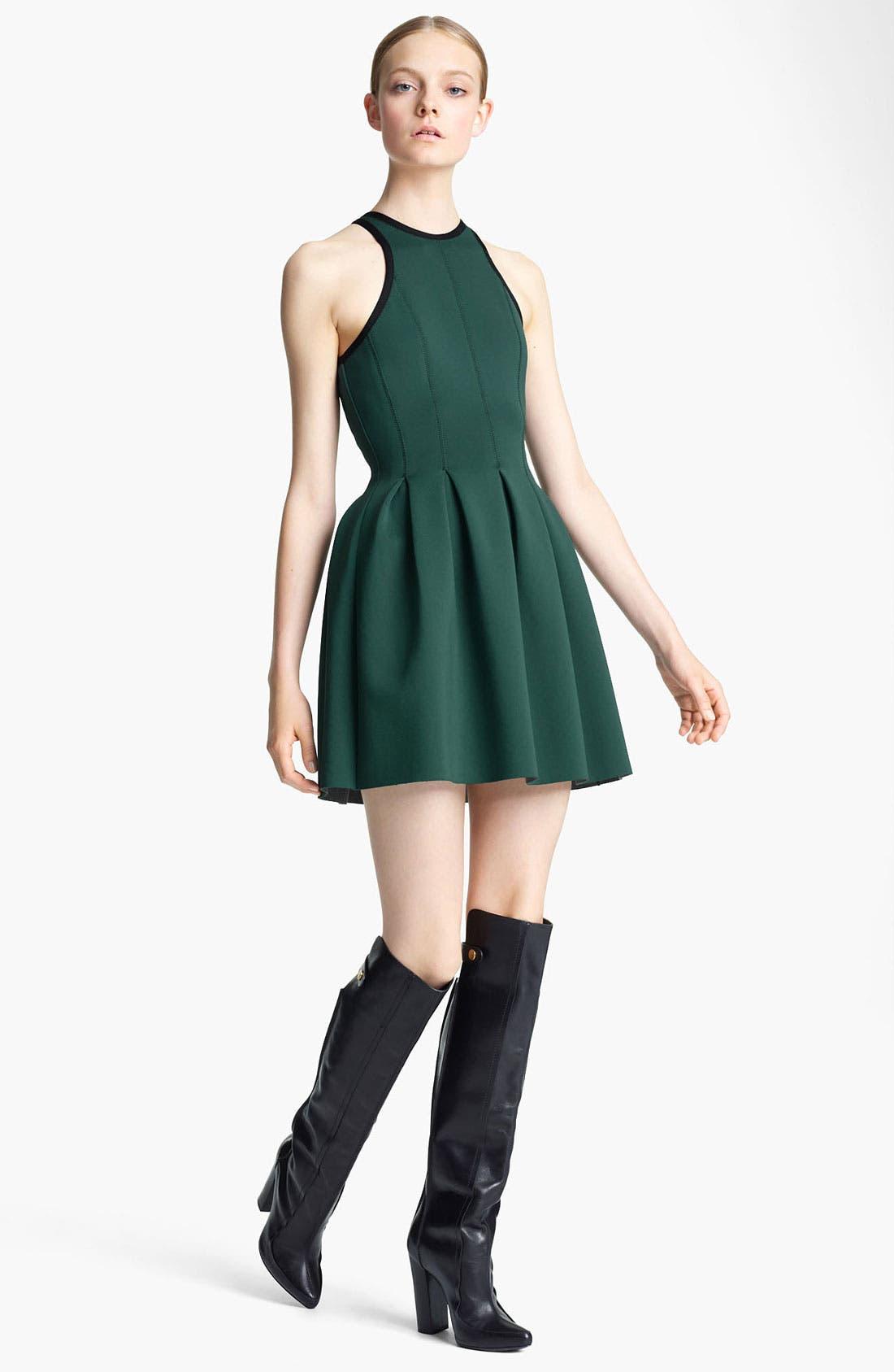 Main Image - T by Alexander Wang 'Neoprene' Pleated Dress
