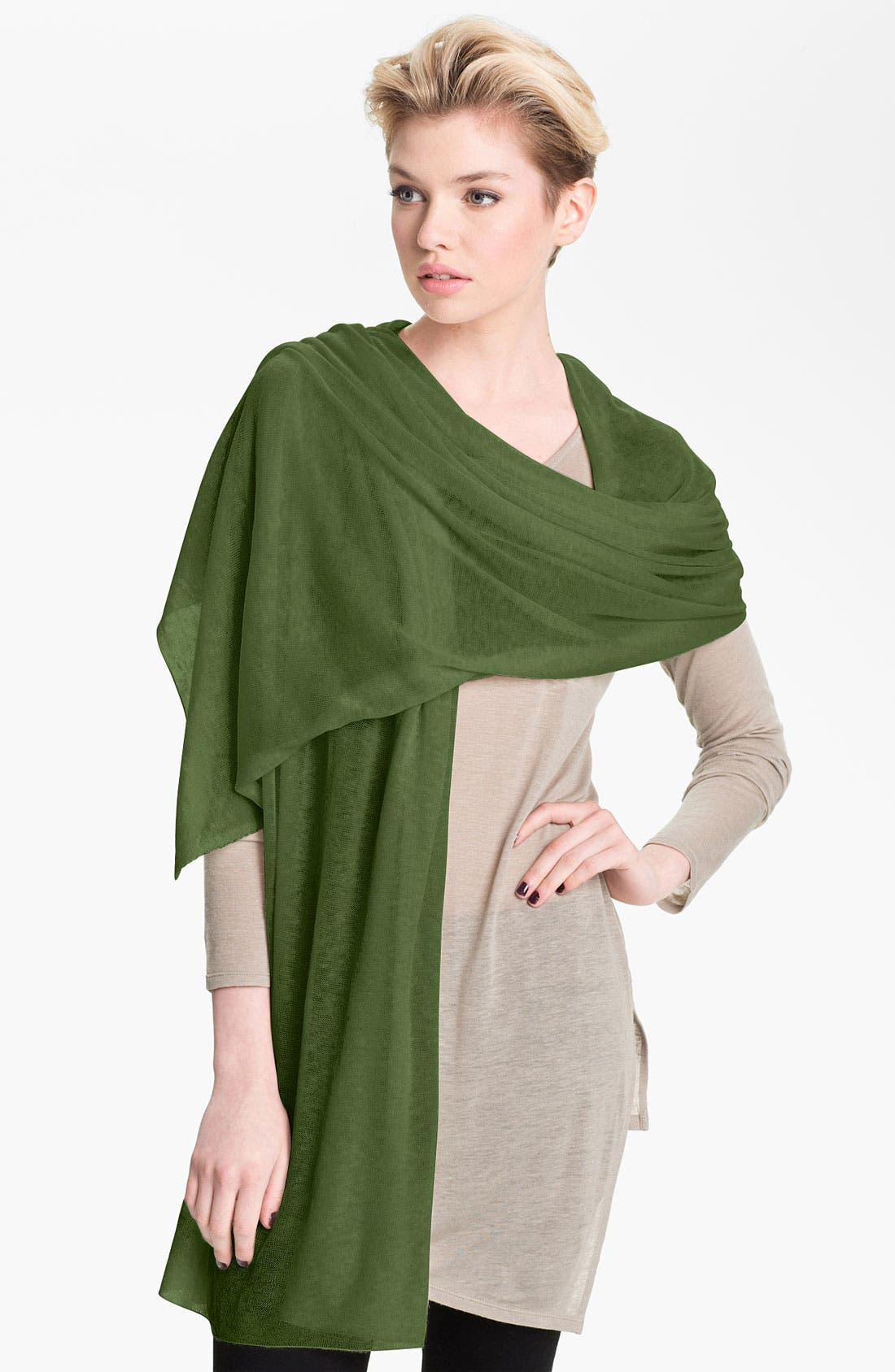 Alternate Image 1 Selected - Nordstrom 'Whisper' Cashmere Wrap