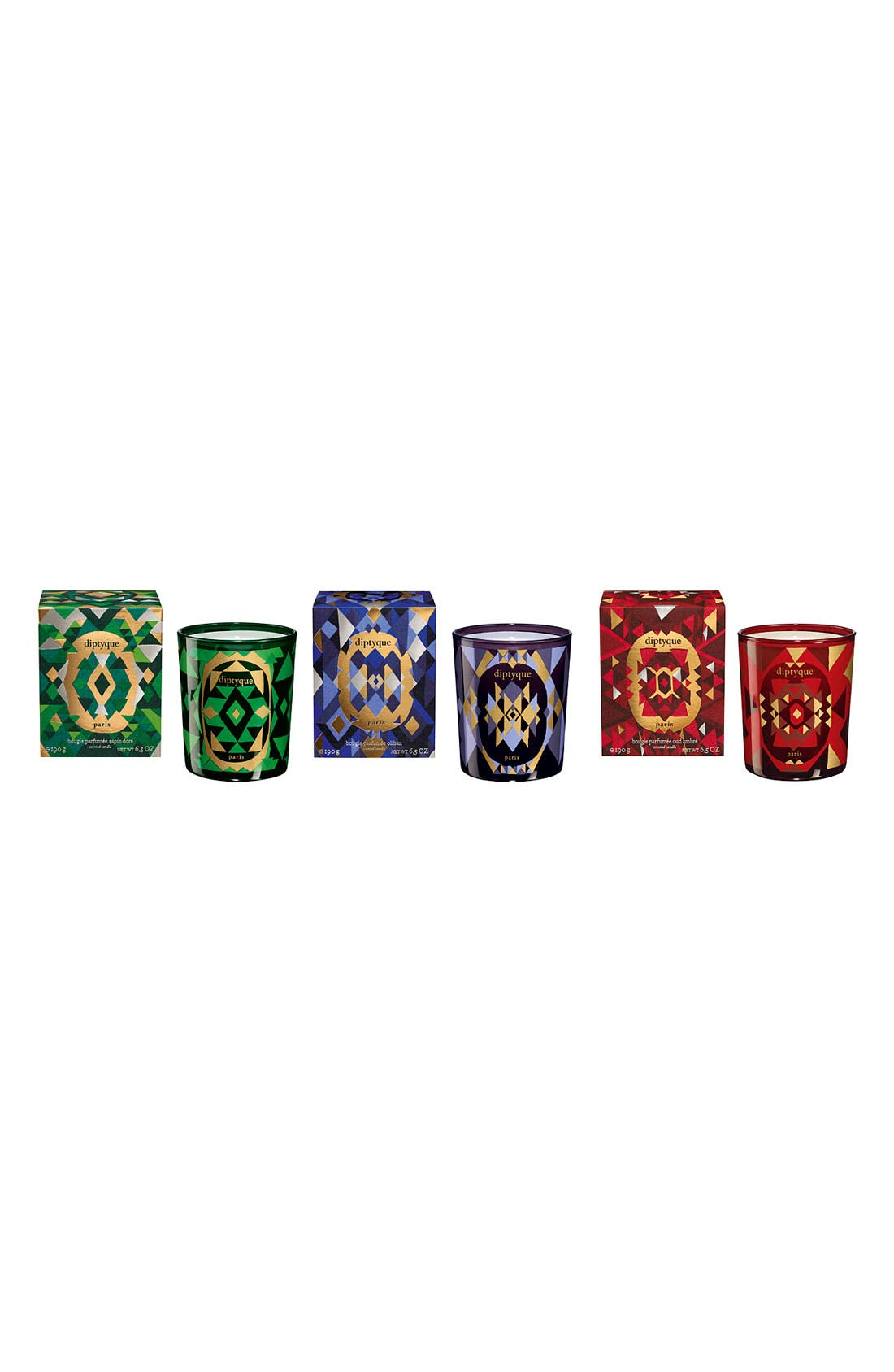 Alternate Image 2  - diptyque 'Sapin Doré' Mini Holiday Candle