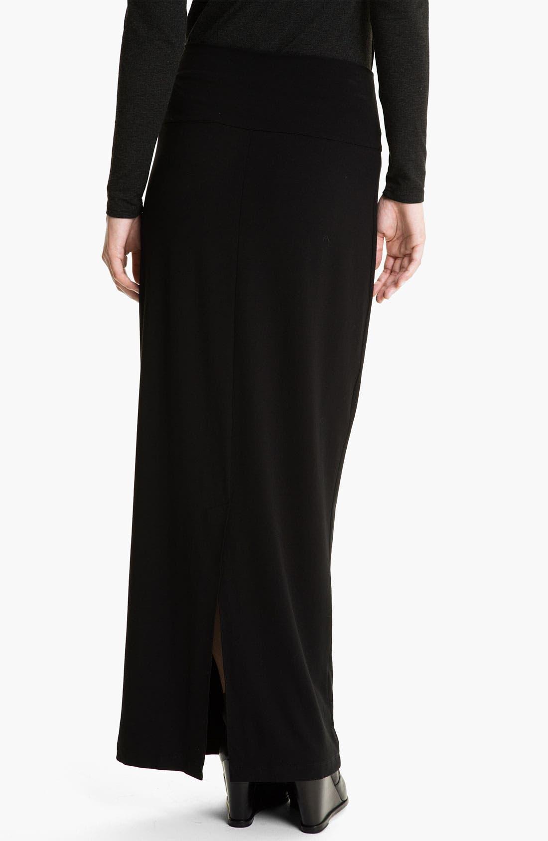 Alternate Image 2  - Eileen Fisher Jersey Maxi Skirt