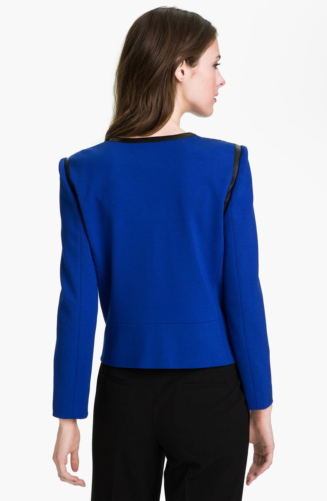 Alternate Image 2  - Vince Camuto Asymmetrical Zip Jacket