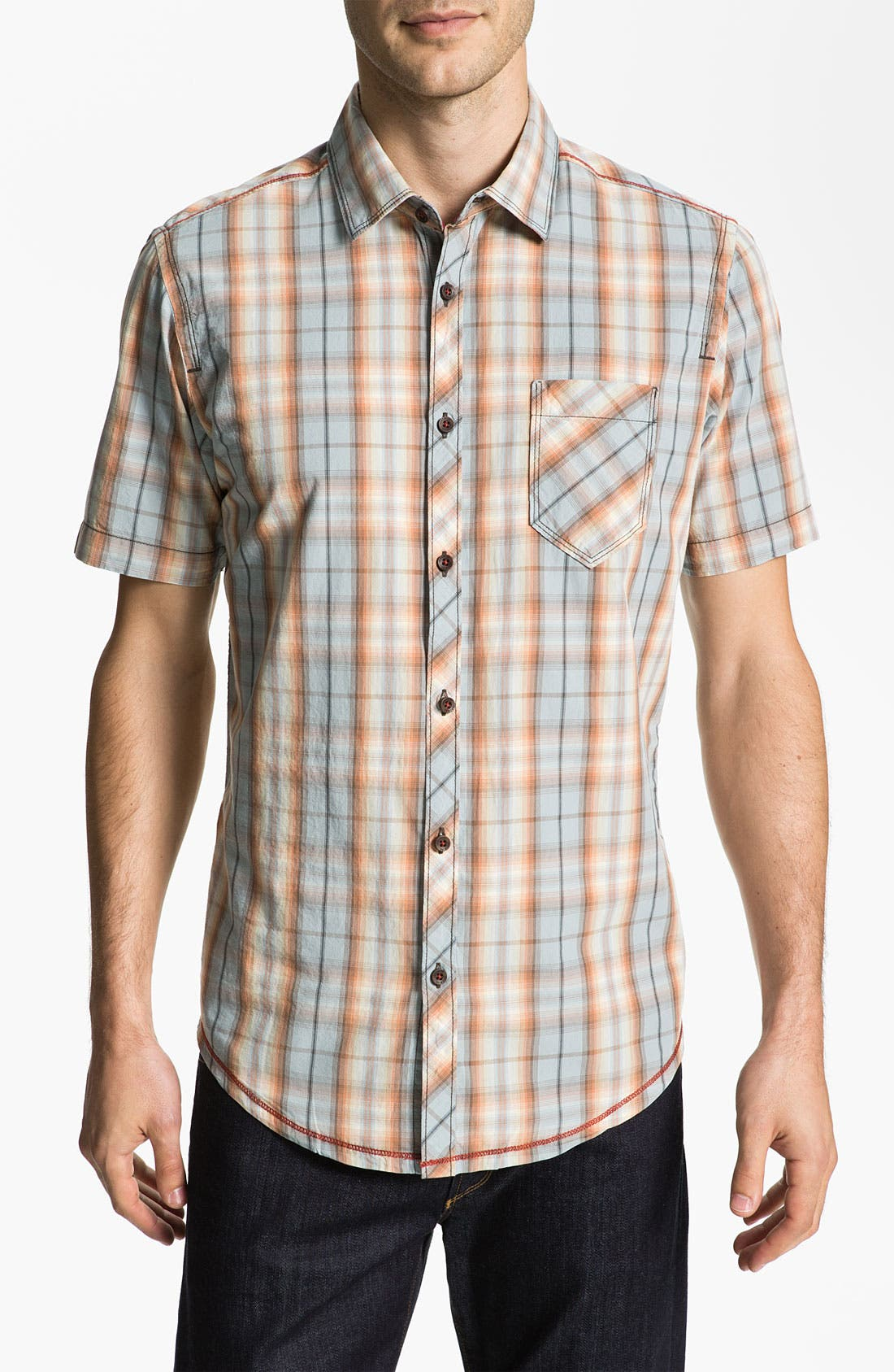 Alternate Image 1 Selected - Jeremiah 'Levitt' Poplin Sport Shirt