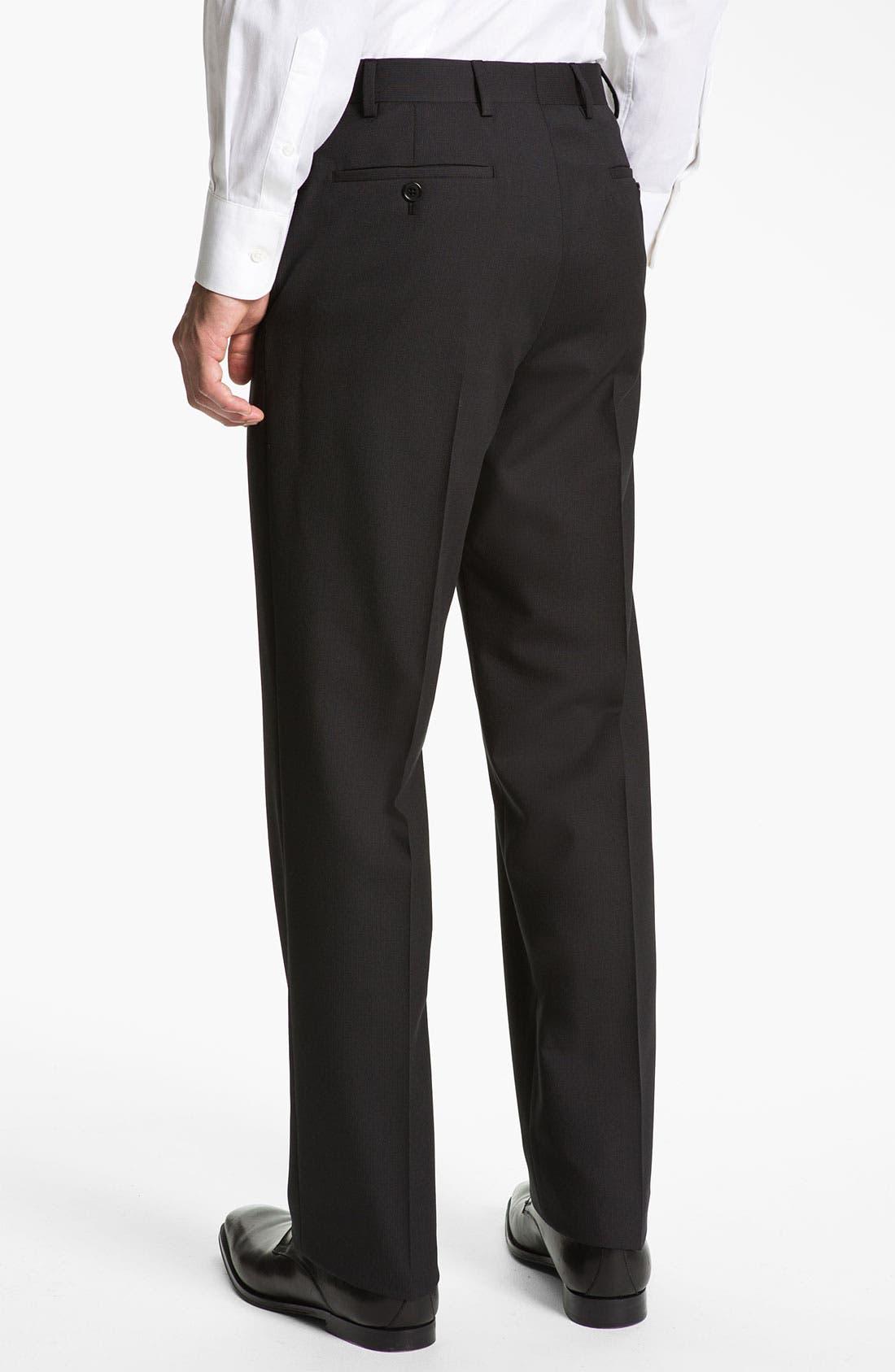 Alternate Image 5  - Armani Collezioni 'Giorgio' Trim Fit Suit