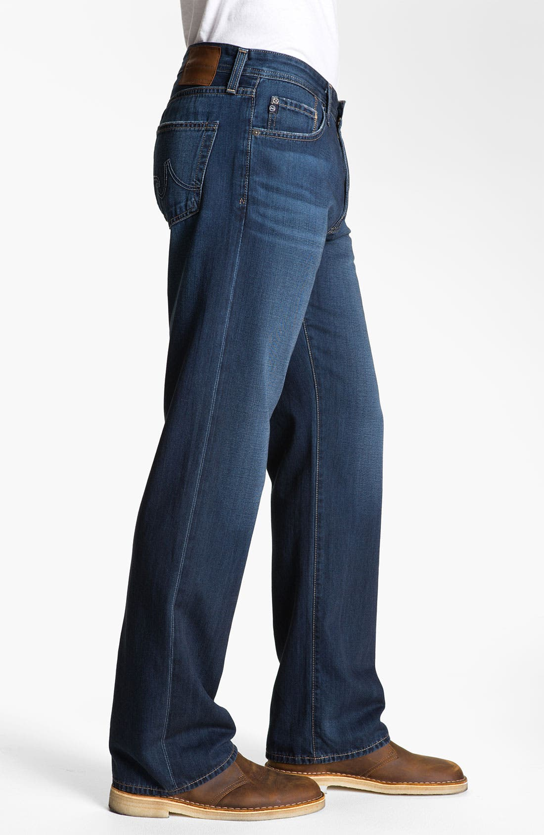 Alternate Image 3  - AG 'Hero' Relaxed Fit Jeans (Barrow)