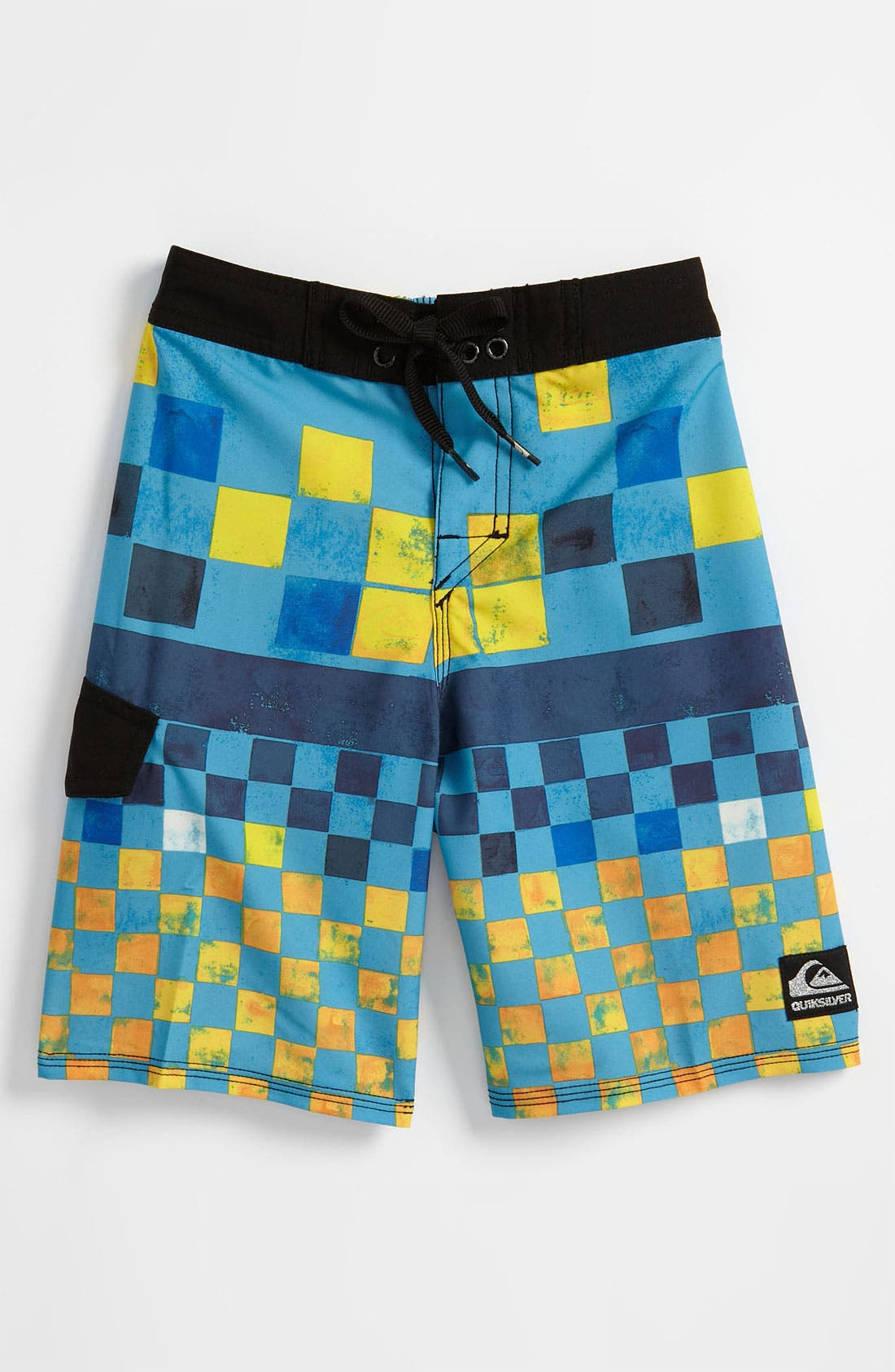 Main Image - Quiksilver 'DNA' Board Shorts (Little Boys)