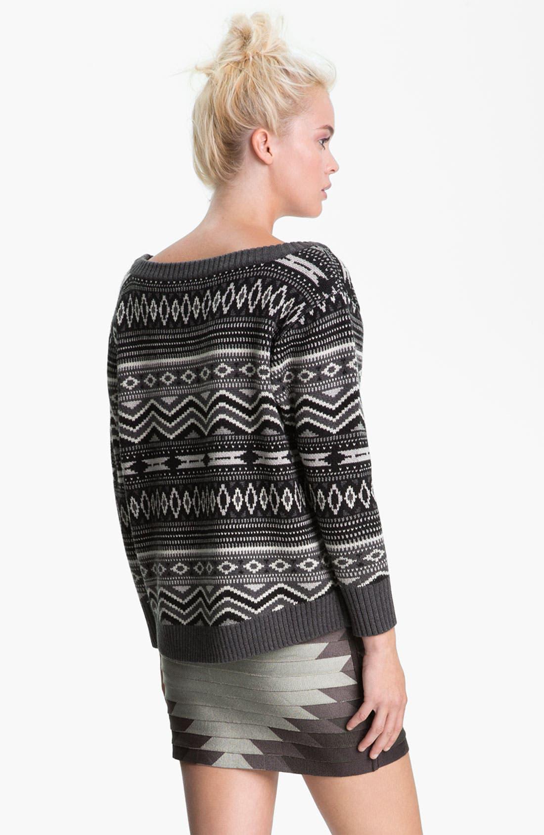 Alternate Image 2  - Haute Hippie Southwestern Merino Wool Sweater