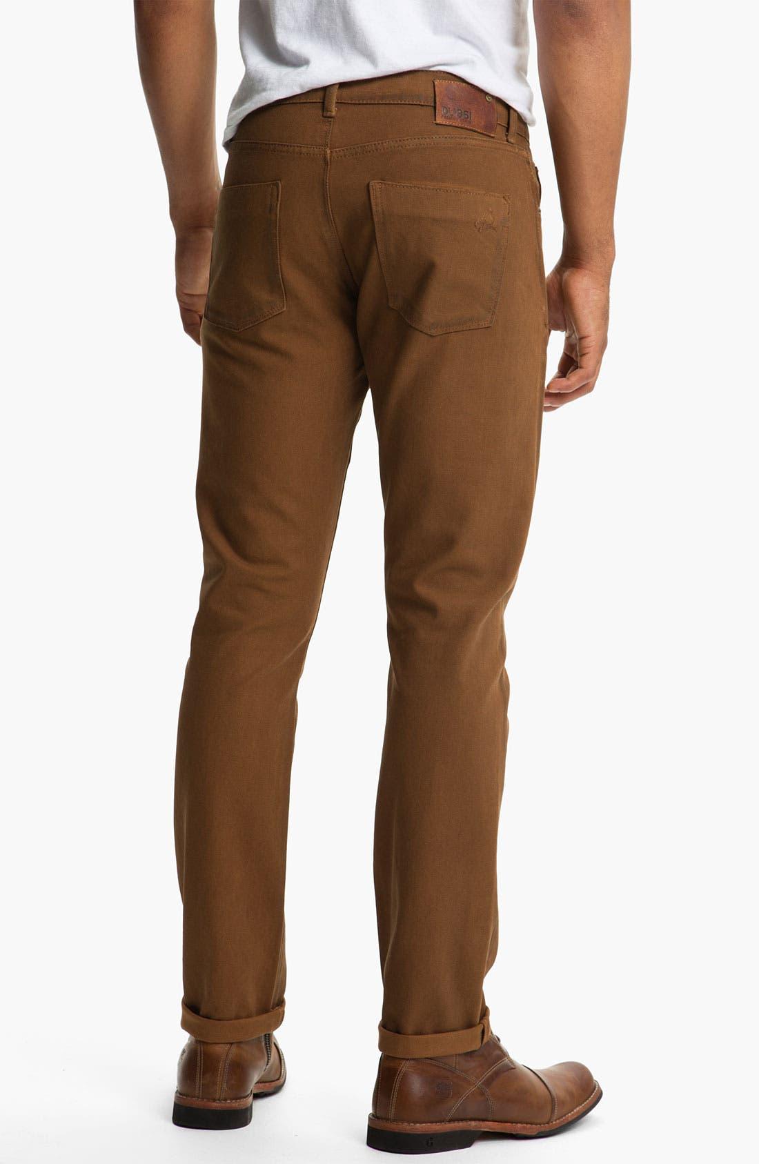 Alternate Image 2  - DL1961 'Russell' Slim Straight Leg Jeans (Desert) (Online Only)