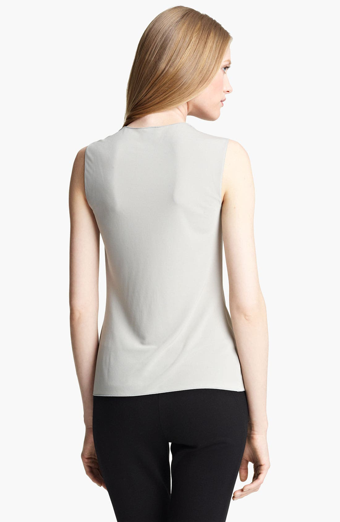 Alternate Image 2  - Armani Collezioni Matte Jersey Top