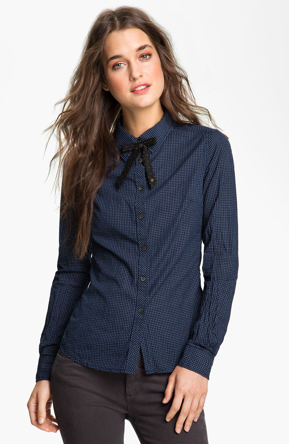 Alternate Image 1 Selected - Maison Scotch Check Shirt