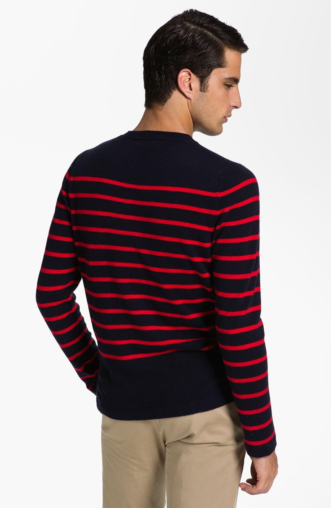 Alternate Image 2  - Marni Stripe Cashmere Sweater