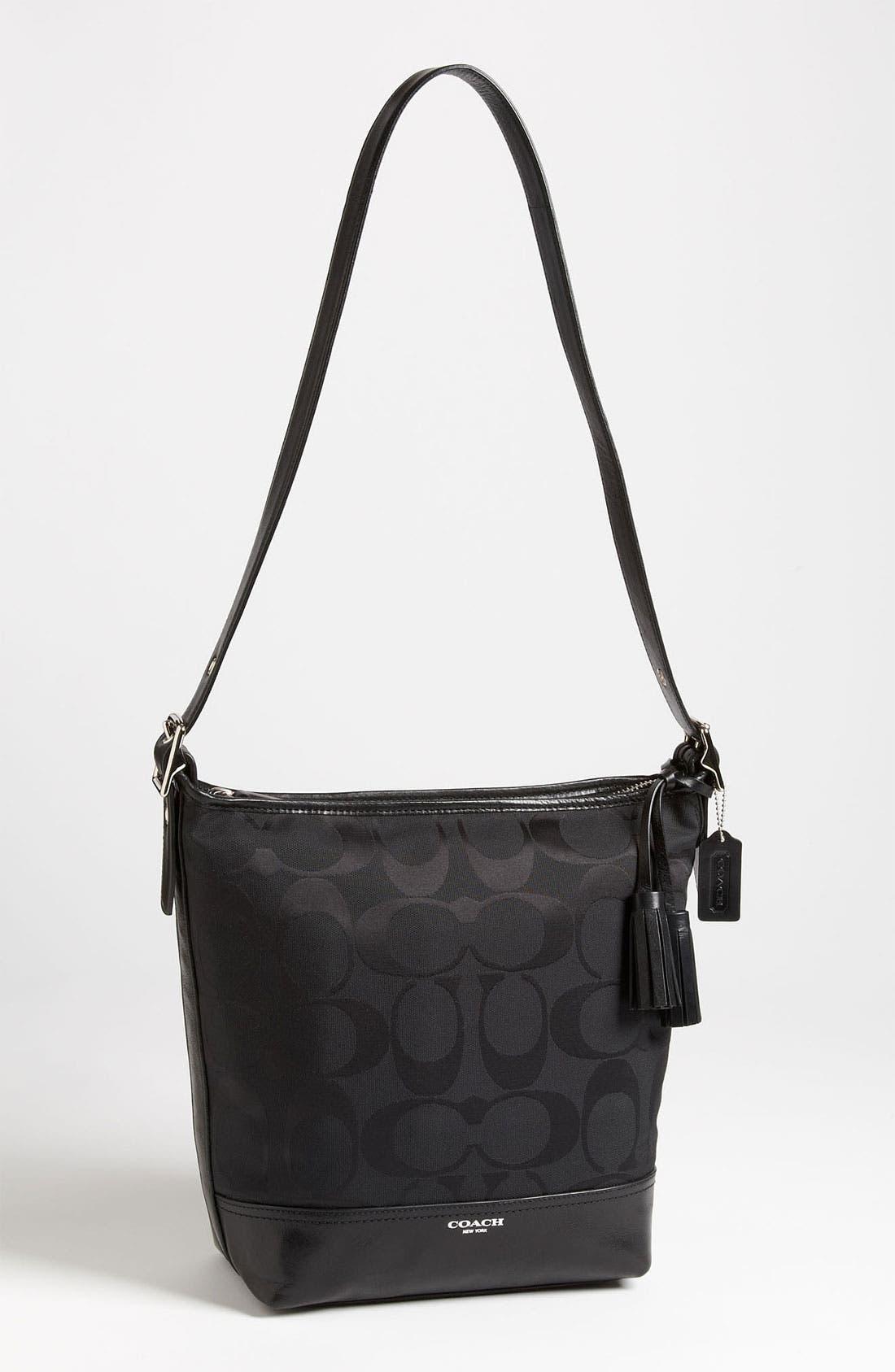Main Image - COACH 'Legacy Duffel - Signature' Shoulder Bag