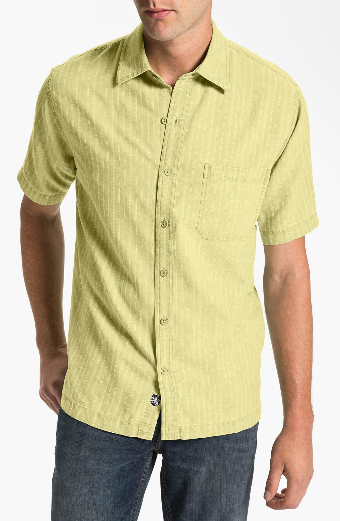 Alternate Image 1 Selected - Nat Nast 'Baja' Silk & Cotton Sport Shirt