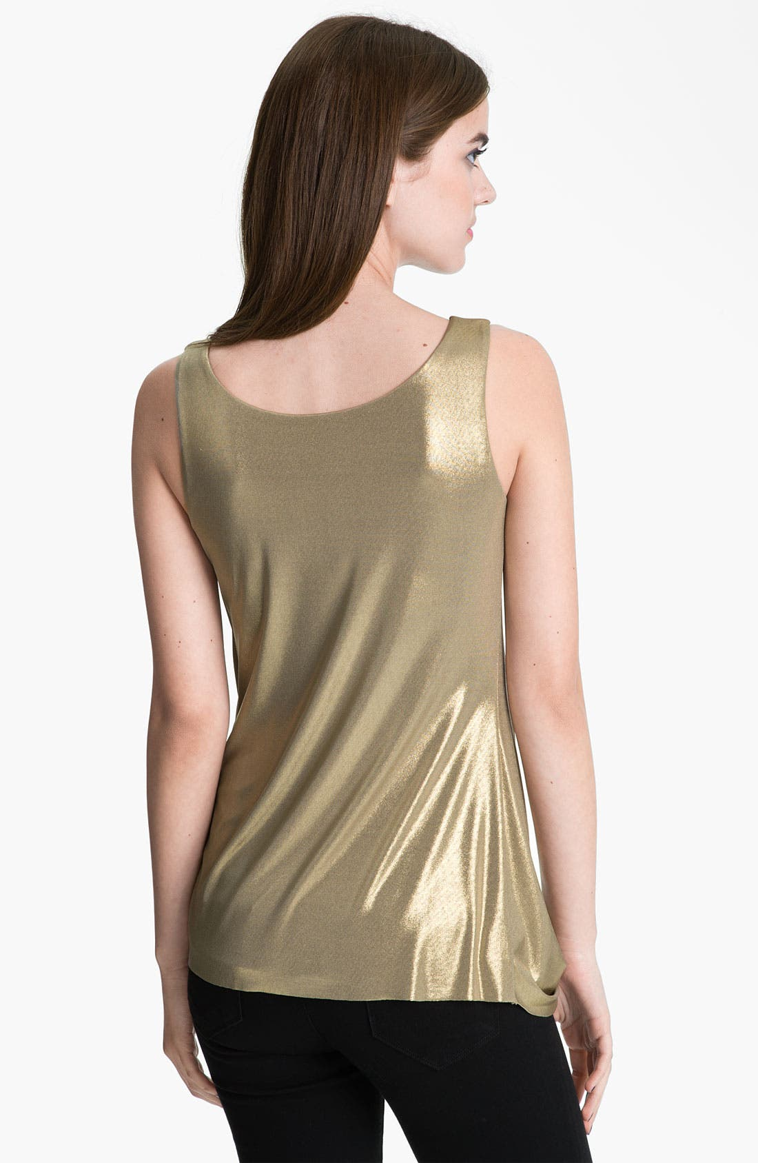 Alternate Image 2  - Bailey 44 Draped Metallic Top