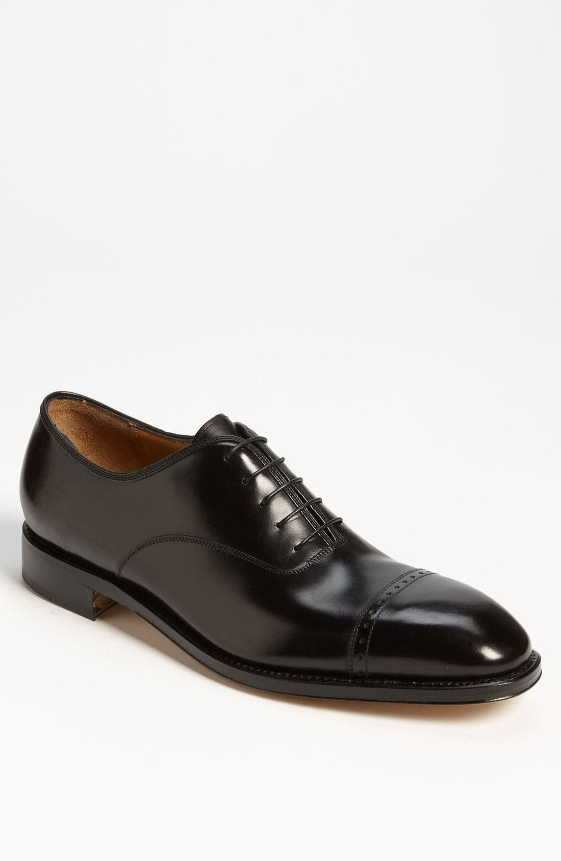 Main Image - Salvatore Ferragamo 'Domino' Cap Toe Oxford (Online Only)