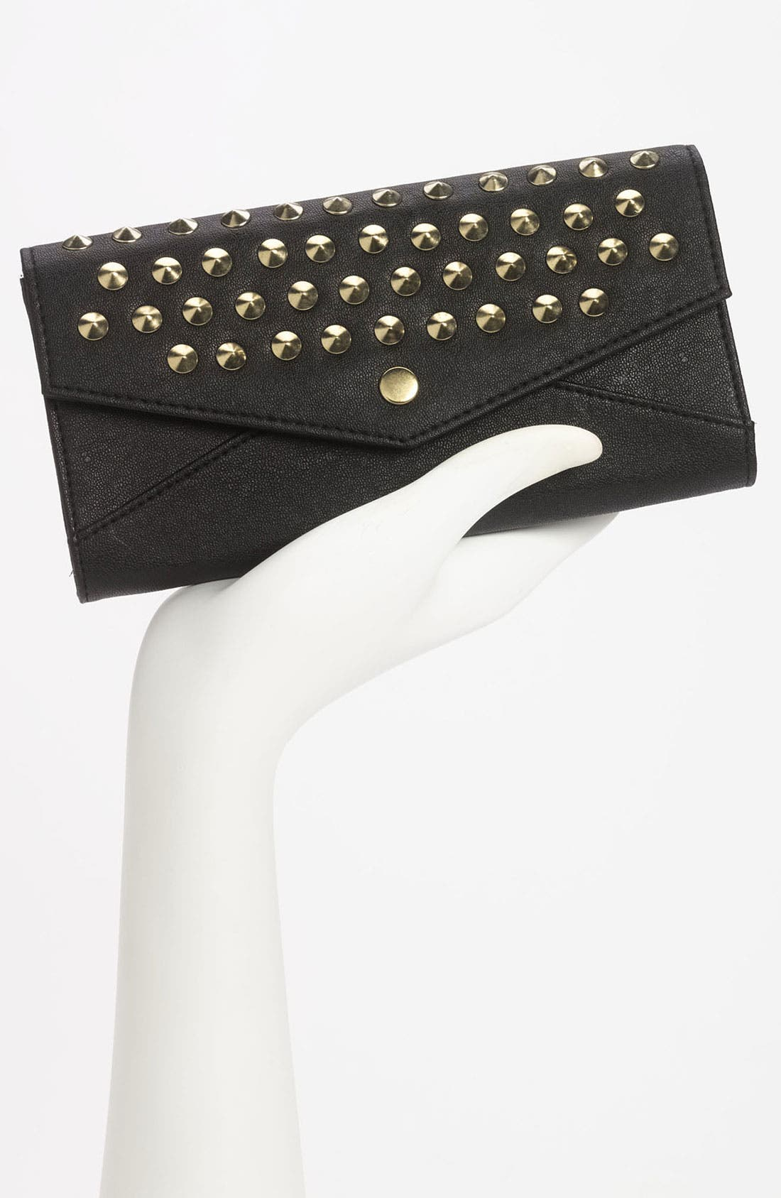 Alternate Image 2  - Lulu Studded Envelope Wallet