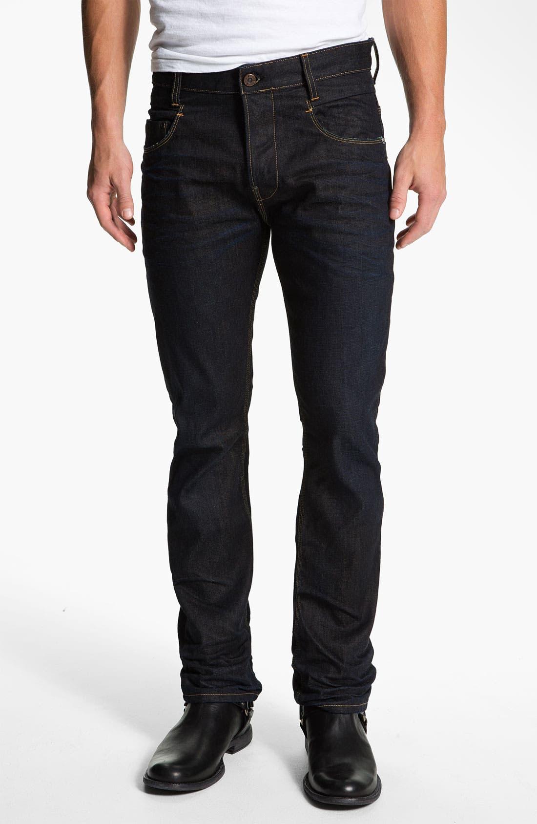 Alternate Image 2  - G-Star Raw 'New Rader' Straight Leg Jeans (3D Dark Aged)