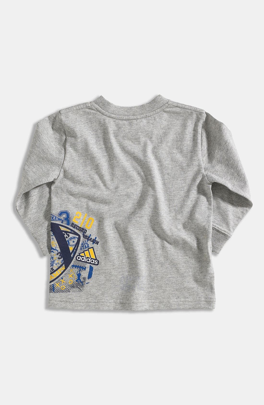 Alternate Image 2  - adidas 'Playbook Wrap' T-Shirt (Infant)