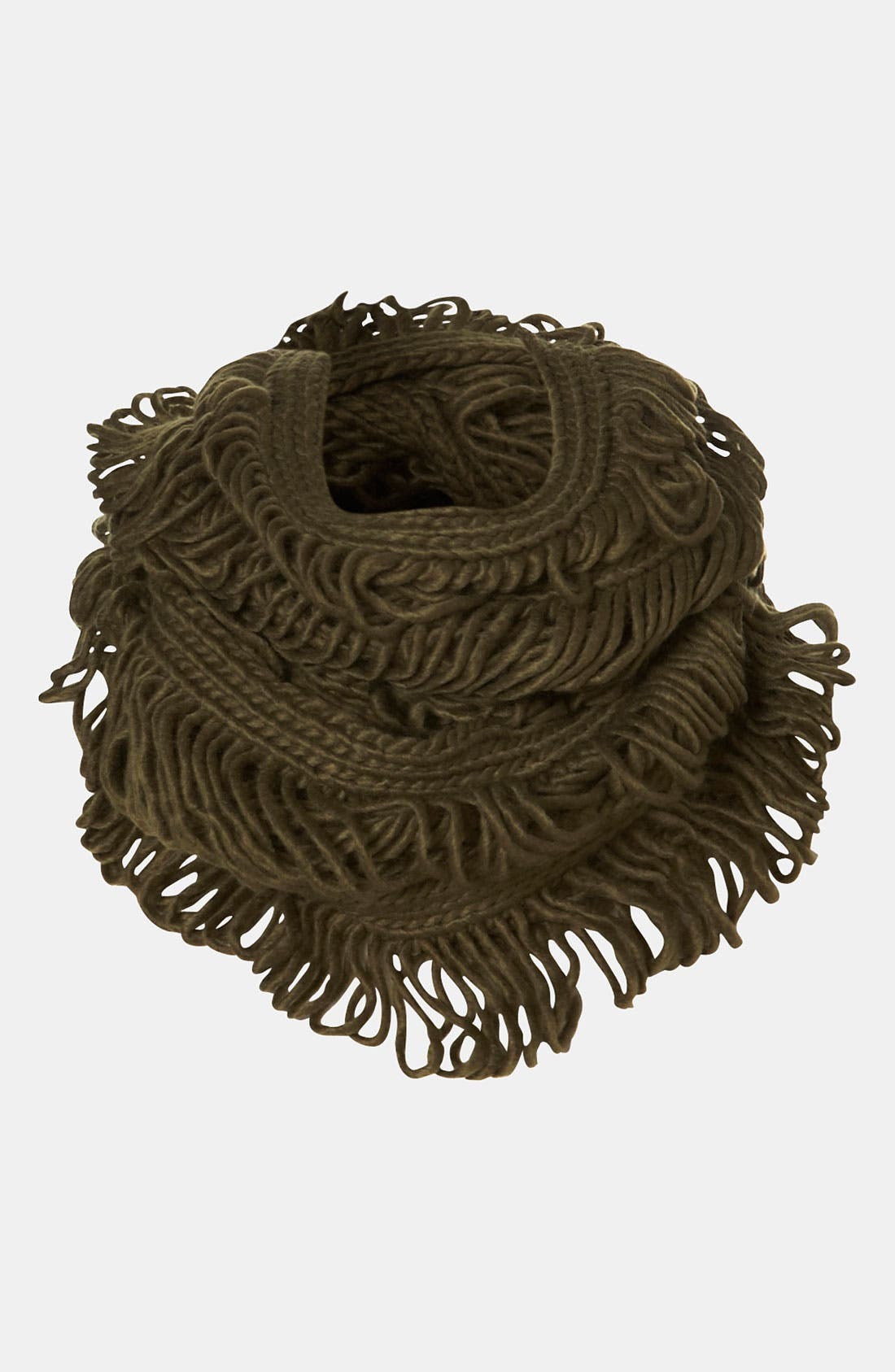 Alternate Image 1 Selected - Topshop 'Laddered' Infinity Scarf