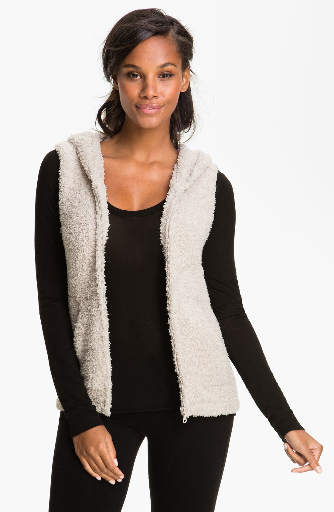 Alternate Image 1 Selected - Barefoot Dreams® CozyChic® Hooded Vest