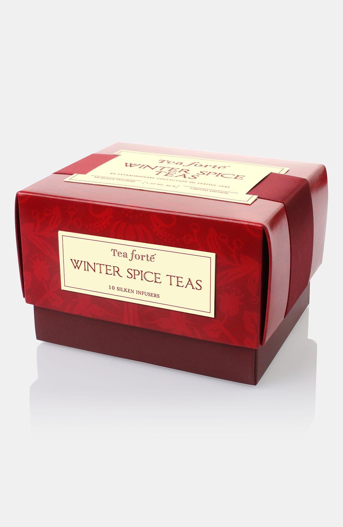Alternate Image 1 Selected - Tea Forté 'Winter Spice - Petite' Boxed Tea
