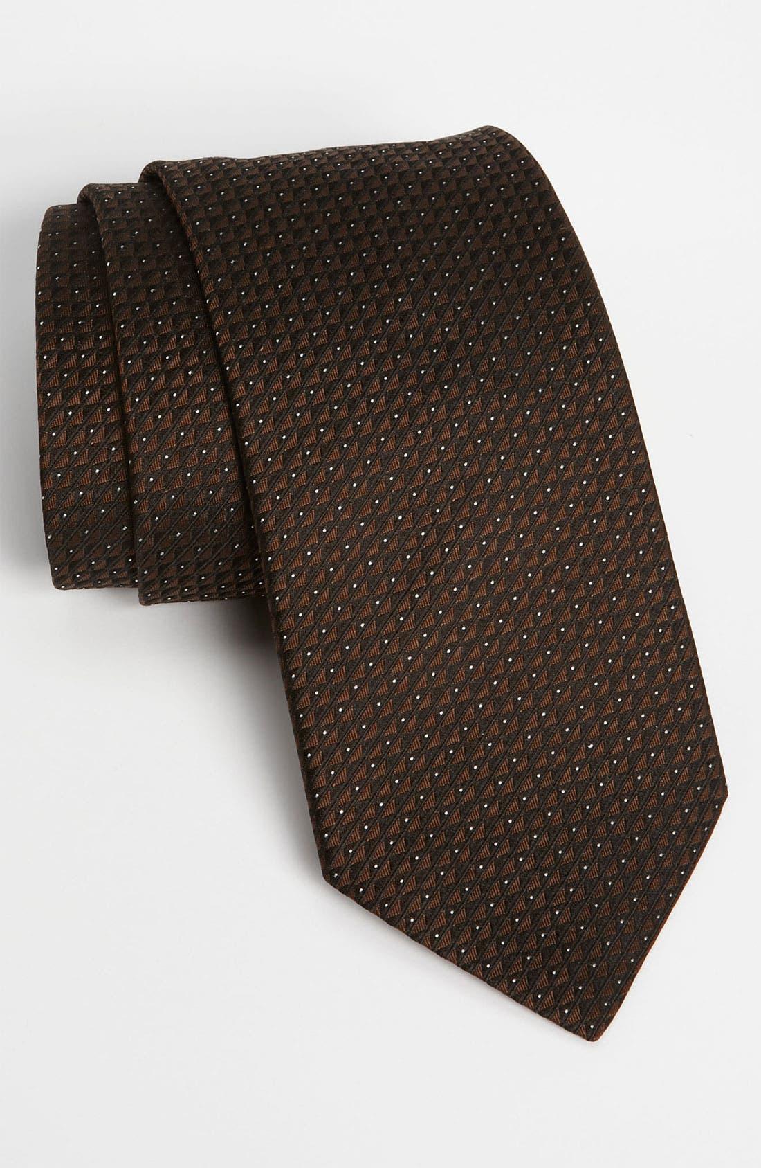Alternate Image 1 Selected - Armani Collezioni Woven Silk Tie