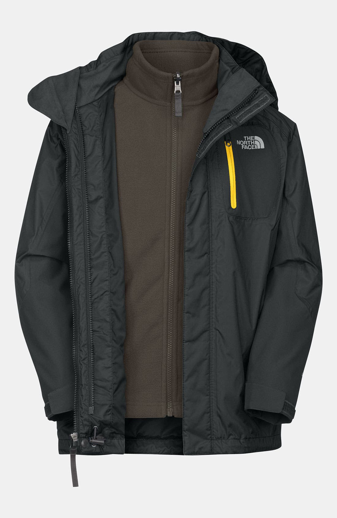 Alternate Image 1 Selected - The North Face 'Atlas' TriClimate® Jacket (Little Boys)