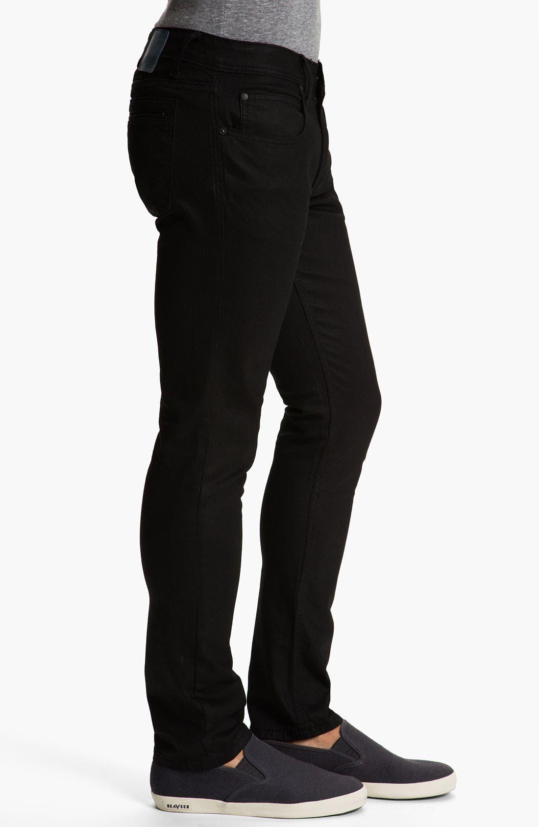 Alternate Image 3  - Ezekiel 'Chopper 305' Slim Straight Leg Jeans (Black)